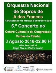 Música | ORQUESTRA NACIONAL DE SOPROS, de A dos Francos