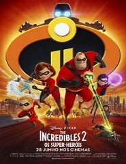 The Incredibles 2: Os Super Heróis 2D VP