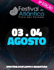 Festival do Atlântico 2018 | PASSE GERAL 3 e 4 de Agosto