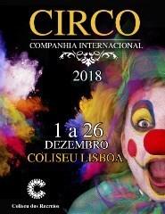 CIRCO NATAL DO COLISEU DE LISBOA 2018