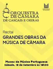 Recital OCCO – GRANDES OBRAS DA MÚSICA DE CÂMARA