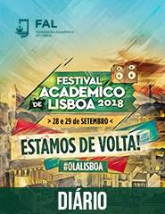 Festival Académico de Lisboa '18 | Bilhete Diário