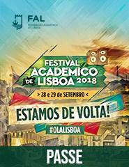 Festival Académico de Lisboa '18 | Passe Geral