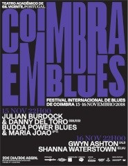 Coimbra em Blues — Festival Internacional de Blues de Coimbra