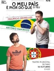 Maurício Meirelles e António Raminhos