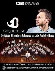 ORQUESTRAE - SOC. FIL. PAIONENSE Com JOÃO PAULO RODRIGUES