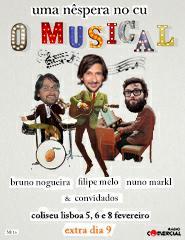 UMA NÊSPERA NO CU - O MUSICAL
