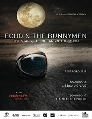 ECHO AND THE BUNNYMEN IN LISBOA Sold Out