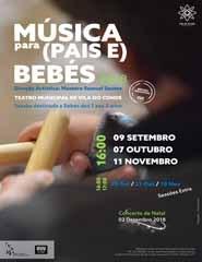 Música para Pais e Bébes | Sessão Extra - 18 Nov.