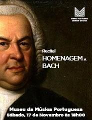 HOMENAGEM A BACH – Recital OCCO