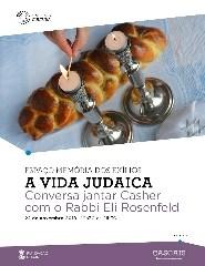 Jantar-conversa com o Rabbi Eli Rosenfled