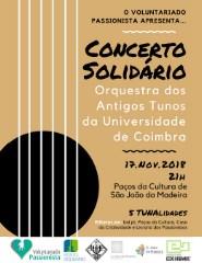 Concerto Solidário Orquestra dos Antigos Tunos da Universidade Coimbra