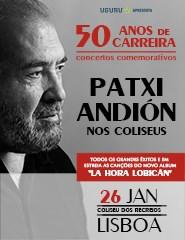 PATXI ANDIÓN NOS COLISEUS