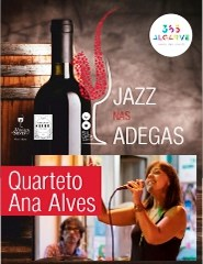 JAZZ NAS ADEGAS | QUARTETO ANA ALVES | 21:00