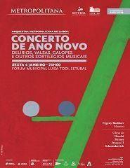 Concerto de Ano Novo: Delírios, Valsas, Galopes...