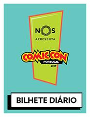 COMIC CON Portugal 2019 | Bilhete Diário
