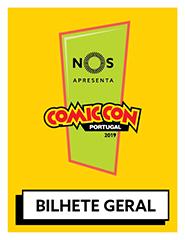 COMIC CON Portugal 2019 | Passe Geral (4 dias)