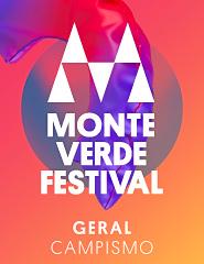 Monte Verde Festival 2019 - Passe Geral com Campismo