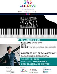 III FESTIVAL DE PIANO DO ALGARVE - Concerto nº 1 de Tchaikovsky