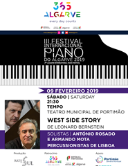 III FESTIVAL DE PIANO DO ALGARVE - West Side Story