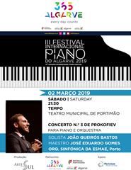 III FESTIVAL DE PIANO DO ALGARVE - Concerto nº 3 de Prokofiev