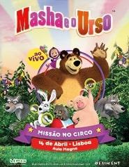Masha e o Urso - Missão no Circo (Aula Magna)