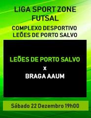 Leões de Porto Salvo x Braga Aaum