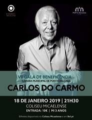 VII Gala de Beneficência | Carlos Carmo