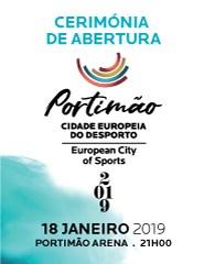 Cerimónia de Abertura da CED Portimão 2019