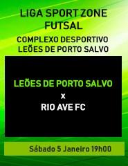 Leões de Porto Salvo x Rio Ave FC
