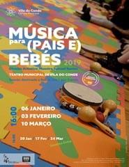 19 Música para (Pais e) Bebés - 03 Fev.
