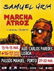 SAMUEL ÚRIA - MARCHA ATROZ com Miguel Ferreira