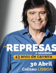 LUÍS REPRESAS | 43 ANOS DE CARREIRA