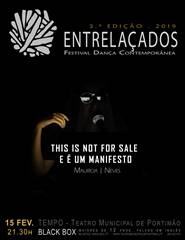 This is not for sale e é um manifesto! de Maurícia Neves