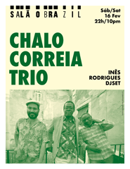 Chalo Correia Trio + Inês Rodrigues djset