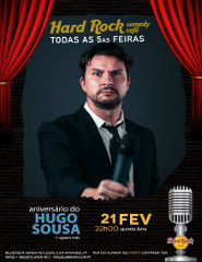 Hugo Sousa - Hard Rock Comedy Cafe
