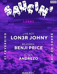 Saucin' #3: benji, Lon3r Johny e Andrezo