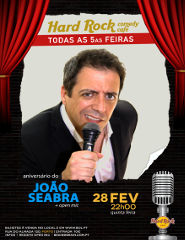 João Seabra - Hard Rock Comedy Cafe