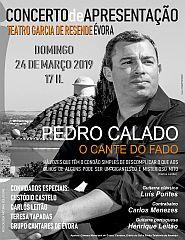 Concerto de Apresentação do CD «O Cante do Fado» de Pedro Calado