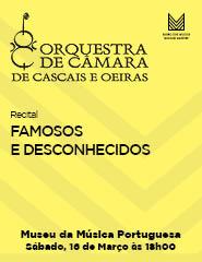 FAMOSOS E DESCONHECIDOS - Recital OCCO