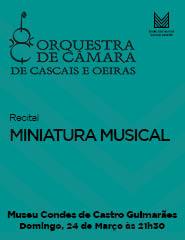 MINIATURA MUSICAL –  Recital OCCO