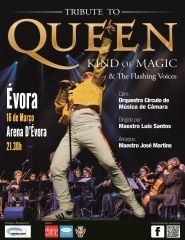 Tributo a Queen - Kind of Magic - Com Orquestra
