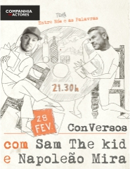 CONVERSOS - C/ SAM THE KID E NAPOLEÃO MIRA
