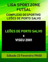 Leões de Porto Salvo x Viseu 2001