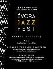 Évora Jazz Fest | Veia | RicardoToscanoQuarteto|Seven Dixie |16 Mar