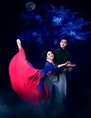Butterfly Lovers, Liang Zhu: Peça dramatizada em 5 actos