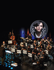 BIG BAND ESTARREJAZZ convida CRISTINA BRANCO