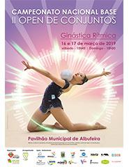 Campeonato Nacional Base e II Open Conjuntos - Ginástica Rítmica 2019