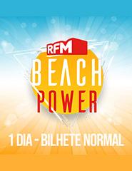 RFM Beach Power - Bilhete Diário