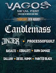 Vagos Metal Fest 2019 - 8 Agosto
